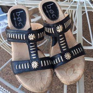 BOC Wedge Heel Slip Ons 6.5